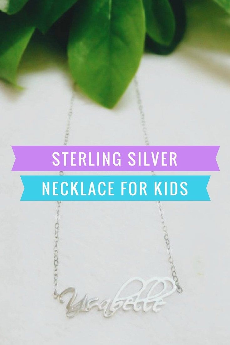 Sterling Silver Necklace for Kids