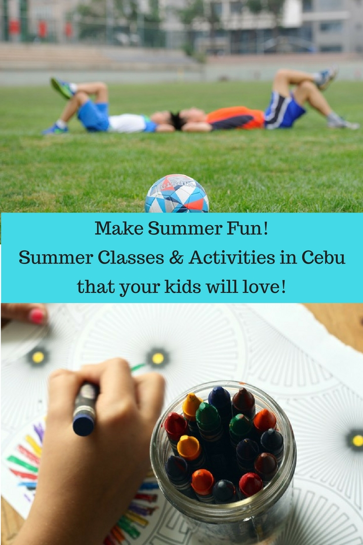Kiddie Summer Classes in Cebu 2017