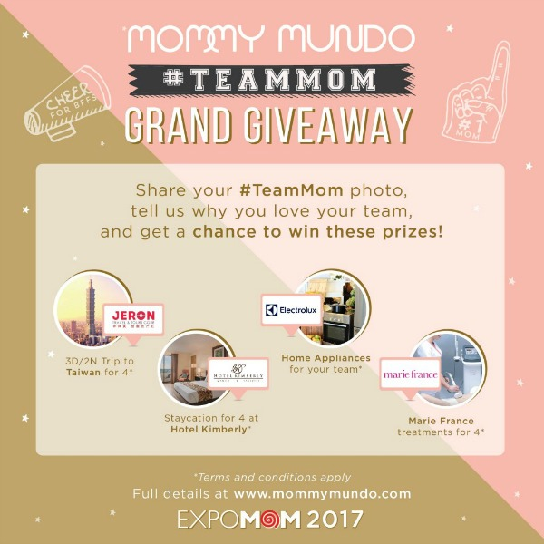 Expo Mom Cebu - Giveaway