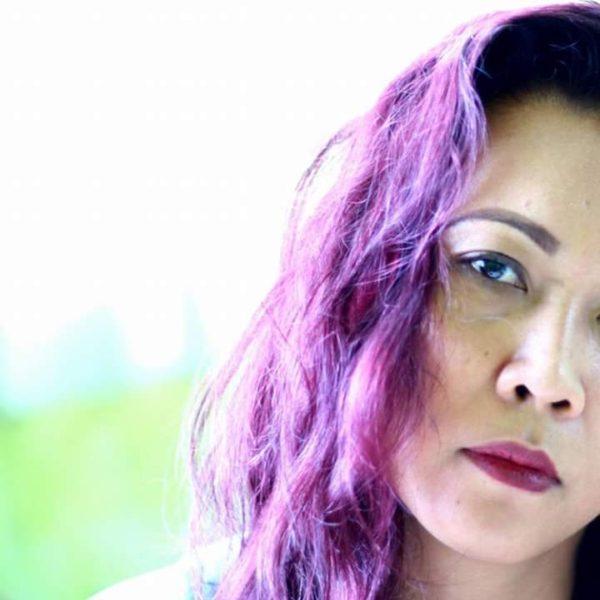 Gaining Confidence Through Power Dressing - Purple Hair