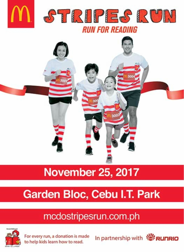 McDonald's Stripes Run 2017 Makes A Comeback in Cebu!