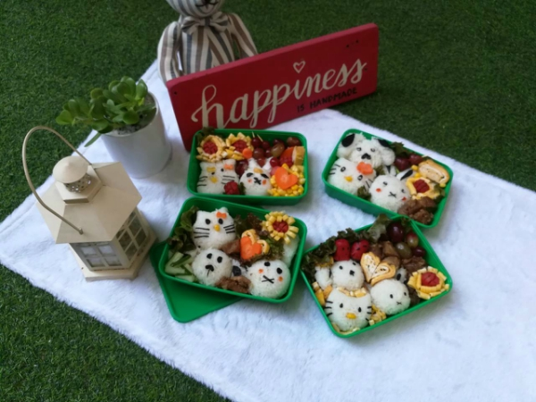 CharaBento - Bento Workshop in Cebu- Our finished products!