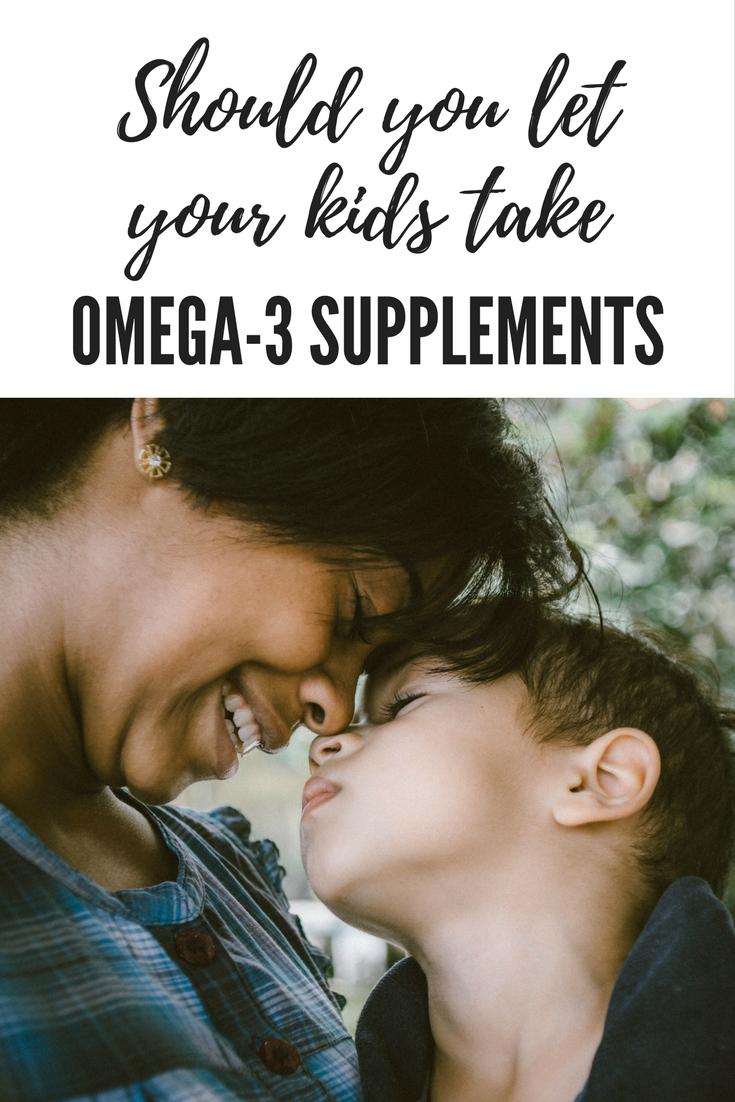 Should you let your kids take Omega 3 supplements (2)