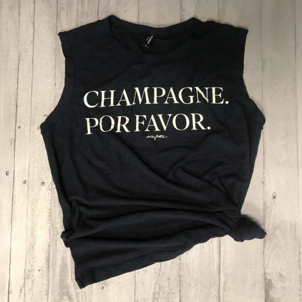 23 Awesome Mom Life Shirts You Need In Your Life Right Now-Champagne por favor