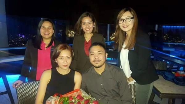 Valentine's Day Dinner in the Most Romantic Restaurant in Cebu - with Manna, Febe and Yumny