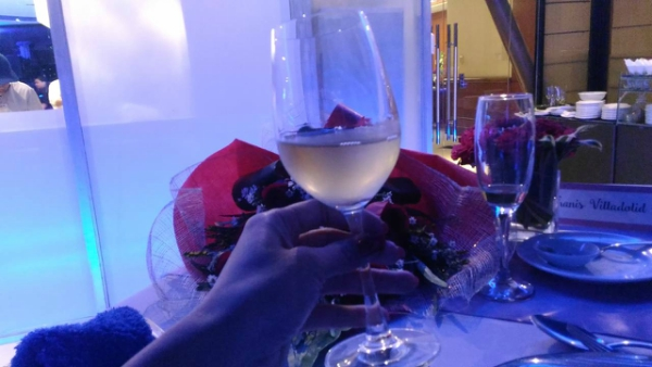 Valentine's Day Dinner in the most Romantic Restaurant in Cebu - More Wine