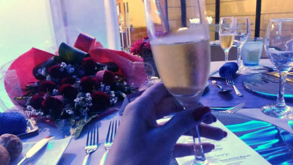 Valentine's Day Dinner in the most Romantic Restaurant in Cebu - Wine, more wine