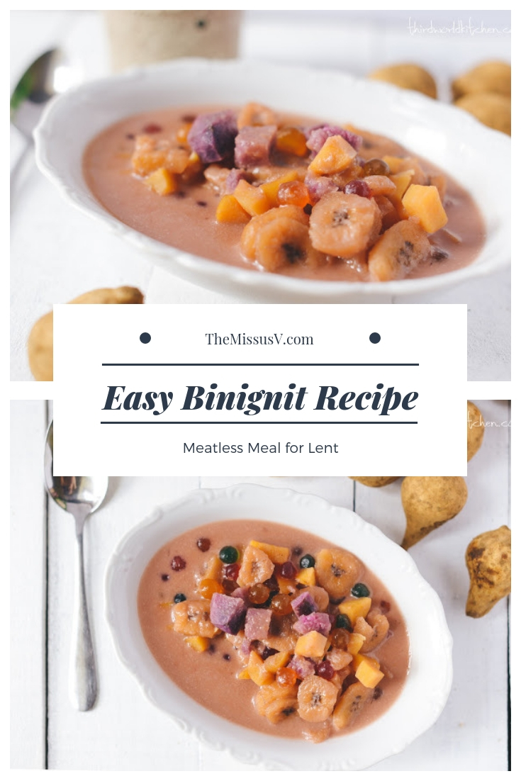 Binignit Recipe - Meatless Meal for Lent - Visayan Version