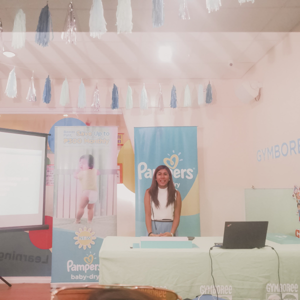 pampers baby dry newborn - choosing the best diaper for your baby - cebu launch