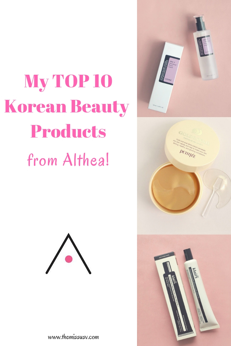 My Top 10 Korean Beauty Products