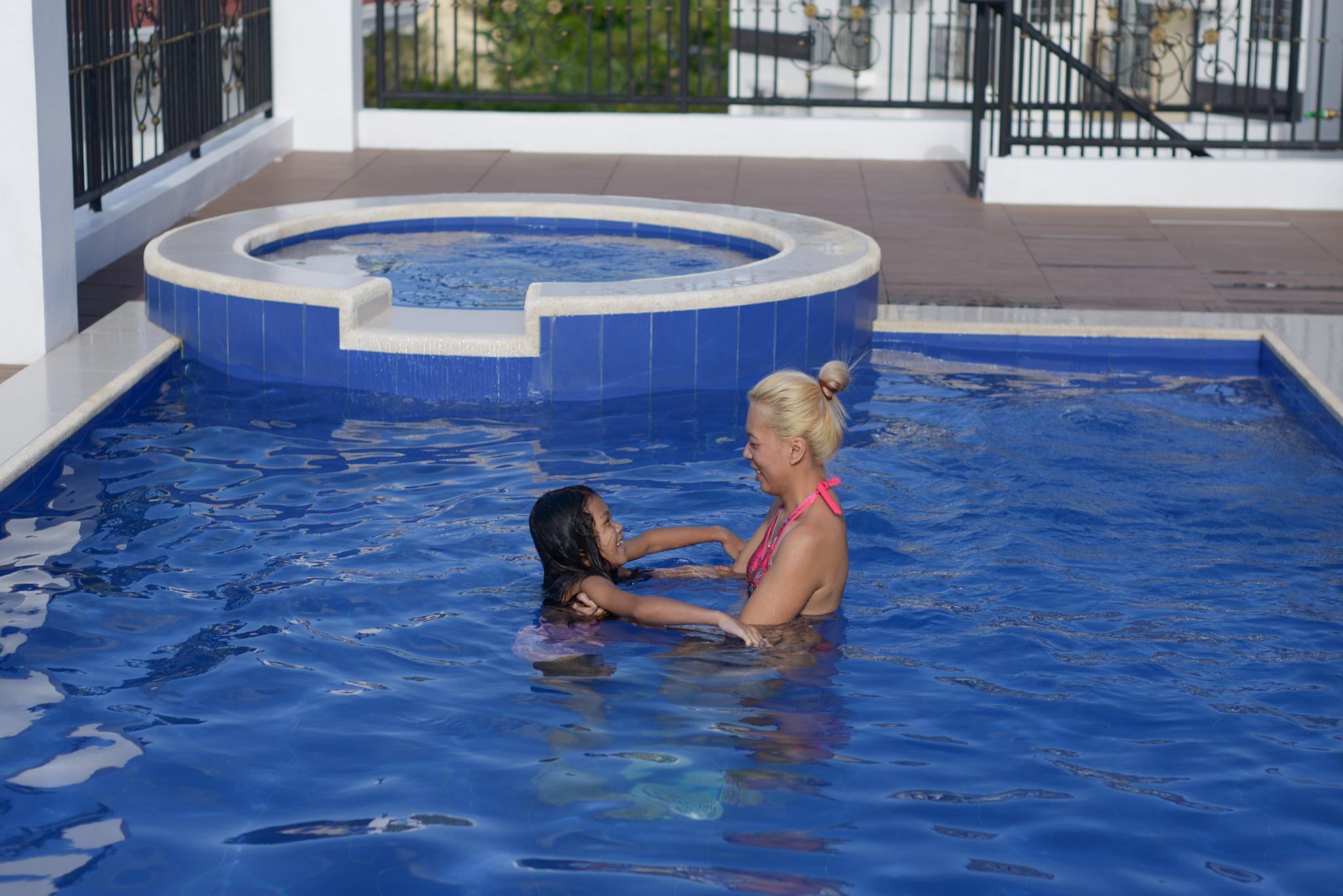 More Worry-Free Days with Joy - Swim time