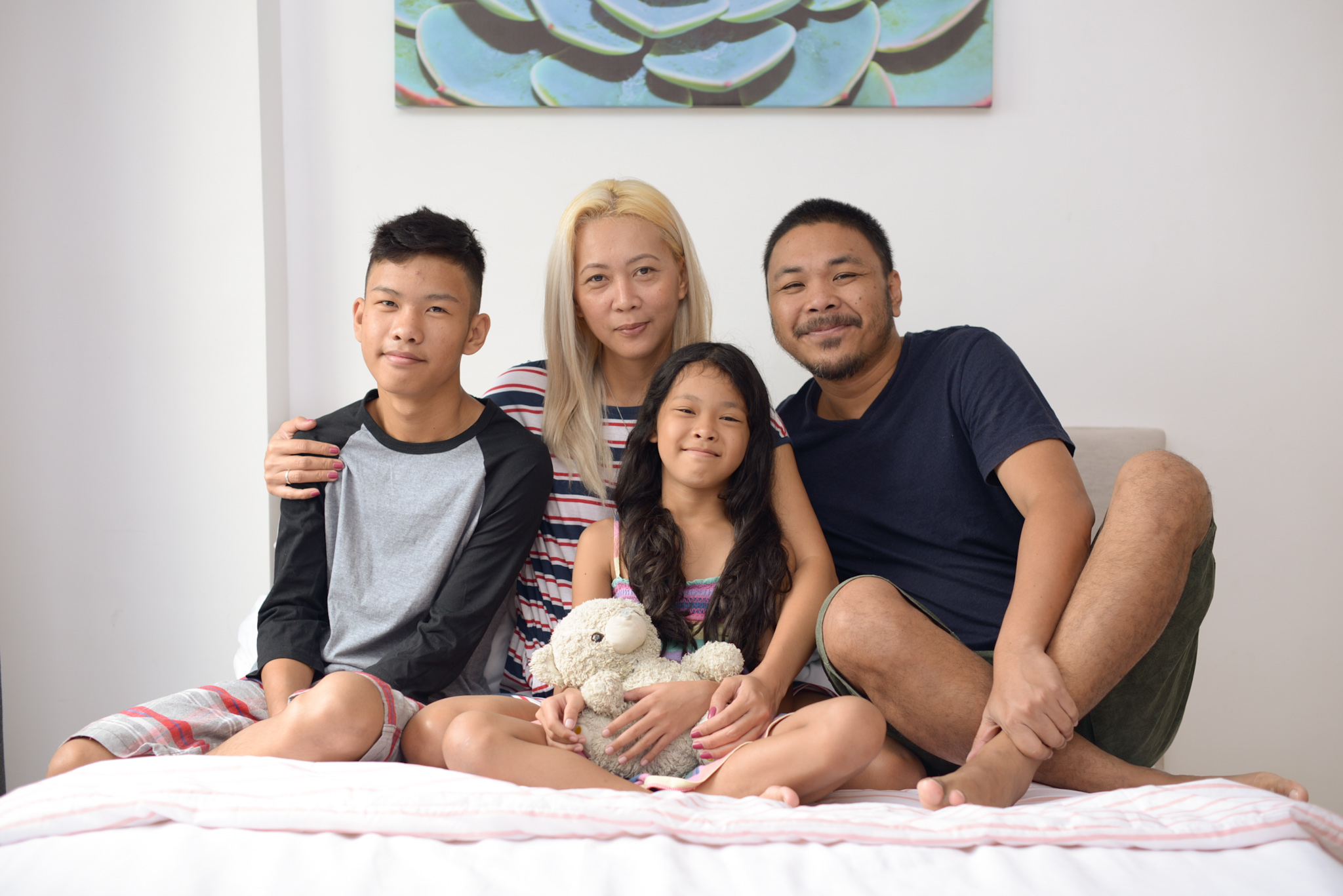 More Worry-Free Days with Joy - The V Family