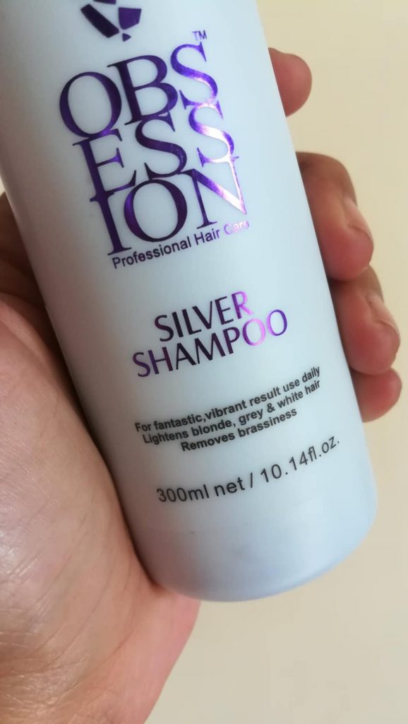 Obsession Silver Shampoo - Purple Shampoo for White Hair