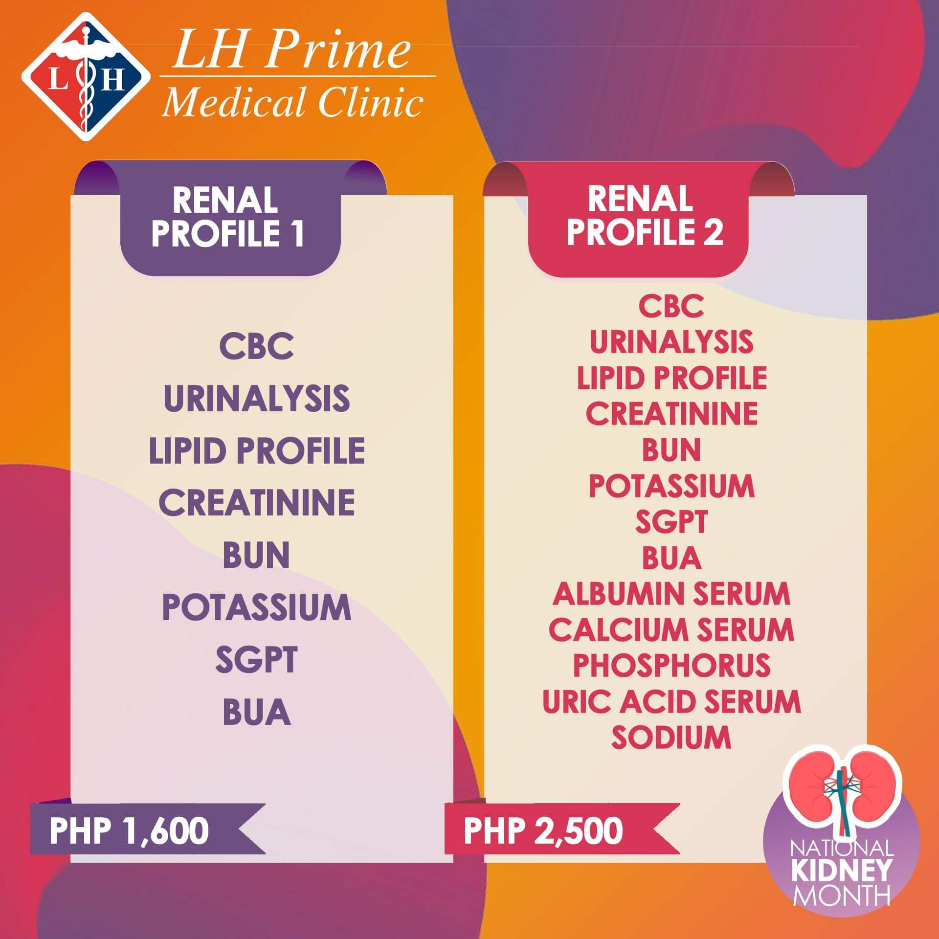 Kidney Health for Kids - Medical Tests LH Prime Medical Clinic