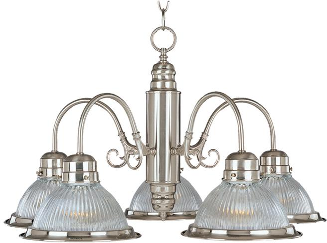 Residential and Industrial lighting - BUILDER BASICS 5-LIGHT CHANDELIER