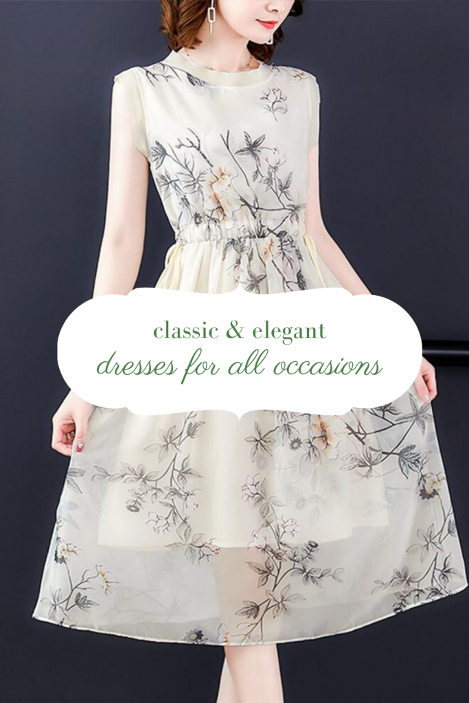 classic and elegant dresses for all occassions