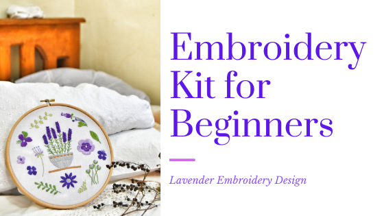LoveCrafts-Embroidery Kit for Beginners